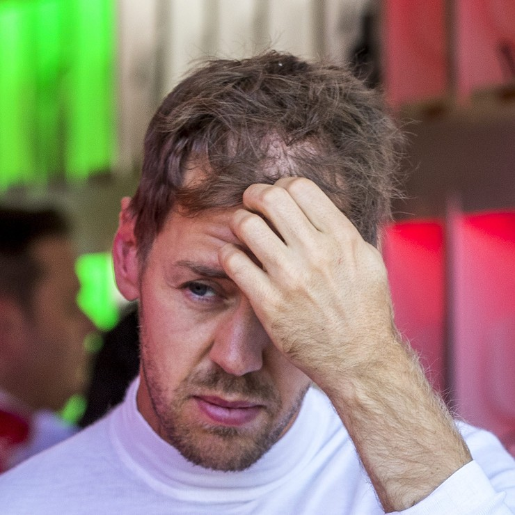 Sebastian Vettel. © AP