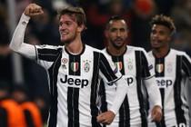 Feest bij de spelers van Juventus. © AFP