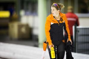 Ireen Wüst beleeft een valse start van het schaatsseizoen. © ANP