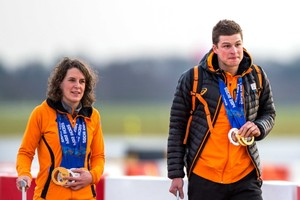 Veelwinnaars Ireen Wust en Sven Kramer. © ANP