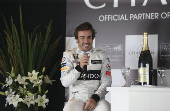 Fernando Alonso. © EPA.