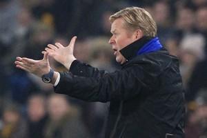 Everton-trainer Ronald Koeman. © AFP